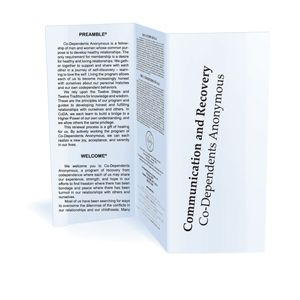 Communication and Recovery (pamphlet) 10-pack