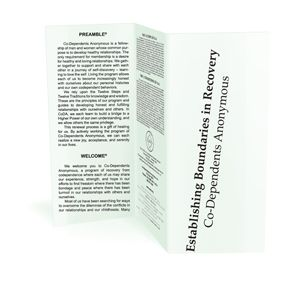 Establishing Boundaries in Recovery (pamphlet) 10-pack